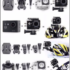 Camera Go Sport Pro Full Hd 1080p Com Wifi