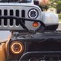 Par Faros Led Jeep 7 Pulgadas Wrangler Sahara Rubicon