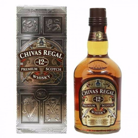 Whisky Chivas Regal 12 Años Lt