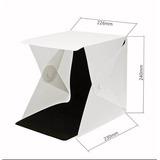 Caja De Luz Led Para Fotografías Estudio Profesional Mini