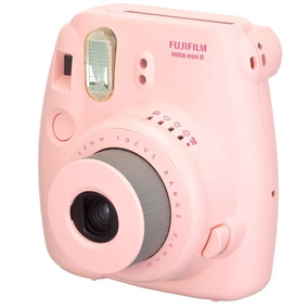 Câmera Instantânea Fujifilm Instax Mini 8 Rosa