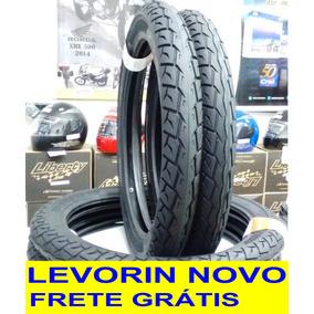 Par Pneu Original Cg 125 150 160 Titan Fan Levorin 0326