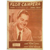 Anibal Troilo Flor Campera 1953 Partitura Piano