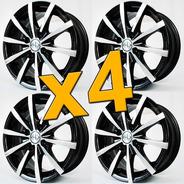 Llanta Deportivas Tvw R13 Kit X 4 Fiat Vw Envíos Instalacion