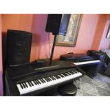 Piano Clavinova Yamaha Cvp20, 76 Notas Contrapesadas