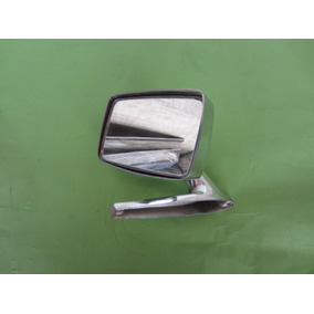 Espejo Cromado Para Auto Antiguo