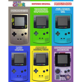 Na Caixa N O V O Game Boy Color Original Nintendo Gbc Zero