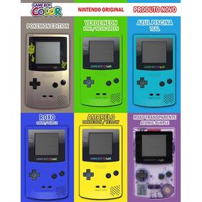 N O V O Game Boy Color Original Nintendo Gbc Zero Faço 219,0
