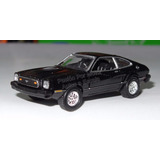 1:60 Ford Mustang Ii 1977 Negro Motor Max 1:64 Shelby