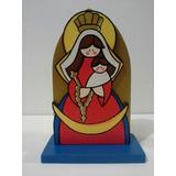 Virgen De Chiquinquira En Madera Y Mas