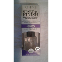 Esmalte O.p.i Start To Finish-base E Secante-importado Eua