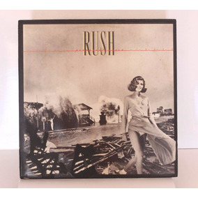 Lp Rush - Permanent Waves Vinil 1980 Mercury