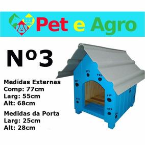 Casinha Pra Cachorro Em Madeira N.3