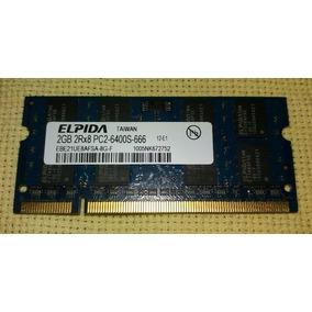 Memoria Note 2gb Ddr2 6400s 666 Elpida 2rx8