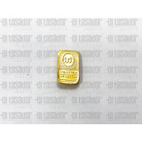Lingote De Oro 24 Kts 1 G. Banco Ciudad *joyeriaeltasador*