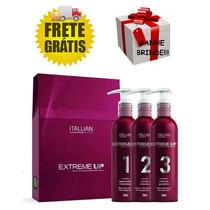 Kit Extreme-up Hair Clinic Sos Pós Química 1, 2, 3- Itallian