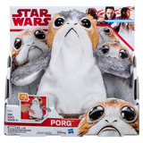 Star Wars Porg Disney The Last Jedi Peluche Parlante Nuevo