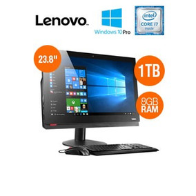 All-in-one Lenovo M910z, 23.8 Fhd, Intel Core I7-7700 3.6gh