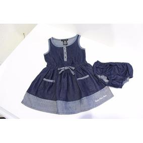 Vestido Importado 18 Meses Original Calvin Klein 2 Piezas Us
