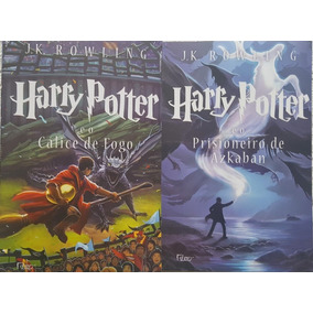 Harry Potter Cálice De Fogo + Prisioneiro Azkaban Kit Livros