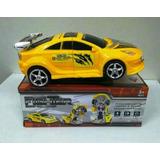 Carro Amarelo Vira Robô Transformers - Frete Grátis