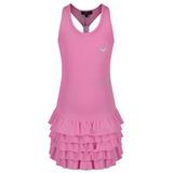 Falda Con Volantes Del Vestido De Tenis Pink Girls Vestido