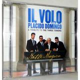 Cd+dvd Il Volo With Placido Domingo - Tribute To 3 Tenors