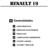 Manual De Taller Renault 19 - Completisimo + De 1400 Paginas