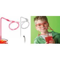 Oculos Canudo - Divertido Chaves - Pronta Entrega E Original