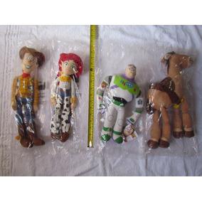 Bonecos Toy Story - Woody, Buzz, Jessie, Bala Alvo