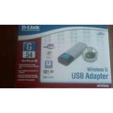 Usb Adapter Wireless G