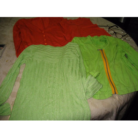 Lote 3 Sacos Abiertos Saquitos Hilo Remera Sweater Feria Am
