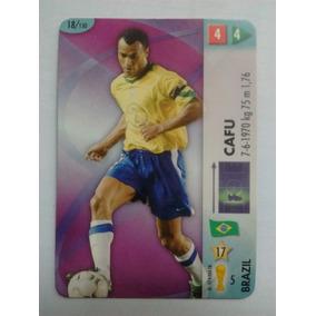 2018 - Card Copa Fifa 2006 - Panini - Nº 18 - Cafu