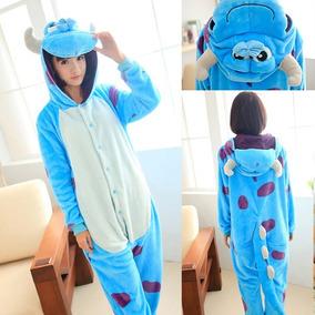 Pijama - Disfraz Solivan Monters Inc. Adulto Unisex Cosplay