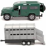 Auto Colección Partes Metal Teamsterz 4x4 Trailer Land Rover