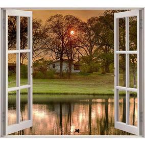 vinilos para pared con paisajes ventanas vinilos