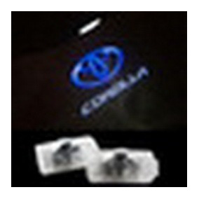 Toyota Corolla Luz Led De Puerta C/logo (par)