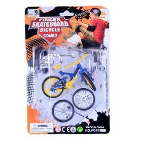 2 Bicicletas + 1 Skate Dedo Truck Quadro Shape Selim Oferta