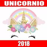 Kit Imprimible Unicornio Dorado Candy Bar Editable 2018
