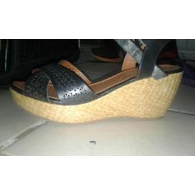 Sapato Feminino Plataforma Tipo Tamanco