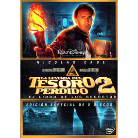 Dvd Leyenda Del Tesoro Perdido 2 2 Dvd´s ( National Treasure
