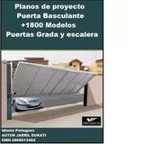 Planos Puerta Basculante Porton Cochera + 1800 Pack Diseños