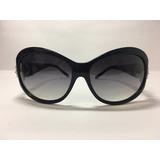 Óculos De Sol Feminino Preto Com Pedras - Via Lorran 3fa5cdd96c