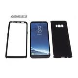 Carcasa 360 Samsung S8 Plus Negra + Lamina Policarbonato