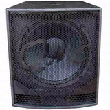 Subwoofer Activo Qmc600 Backstage Amplificado Triplay