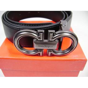 Cinturon Ferragamo Con Caja Cubrepolvo Etiqueta Nuevo Ng2