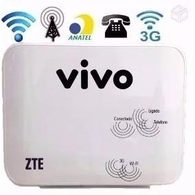 Roteador Vivo Box 3g Huawei B260a,b681 E Zte Mf23