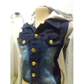 Duas Jaqueta Moleton Jeans Casaco Com Lycra Frete Gratis