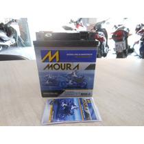 Bateria Moto Moura 6ah Twister/tor/fal/cb300/cbr250/fazer250