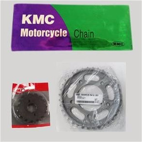 Kit Relação Honda Cg Titan 150 Ks/es/esd/fan/mix - Vaz/kmc